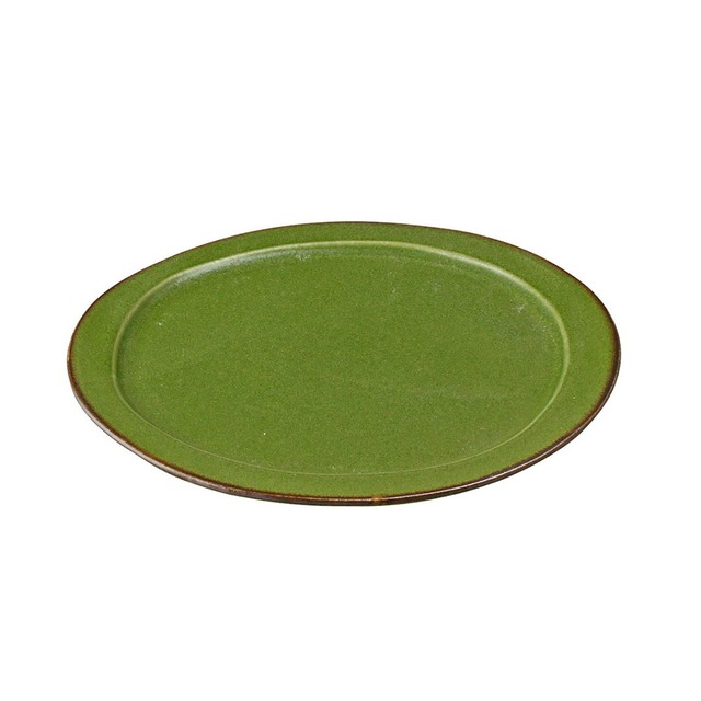 aito製作所 「翠 Sui」大皿 25cm うぐいす 美濃焼 288036