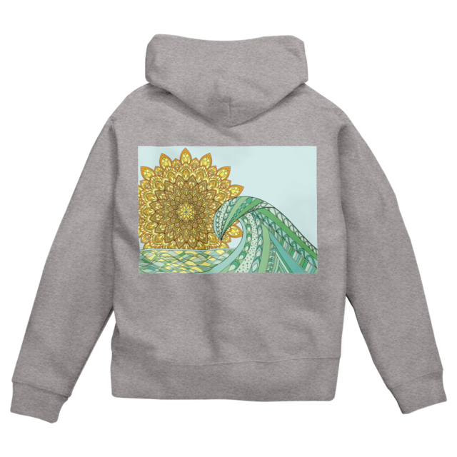 Mandala Sun & Sea  グレー