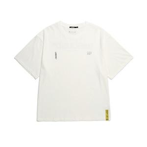211201 21 SLOGAN TEE / WHITE