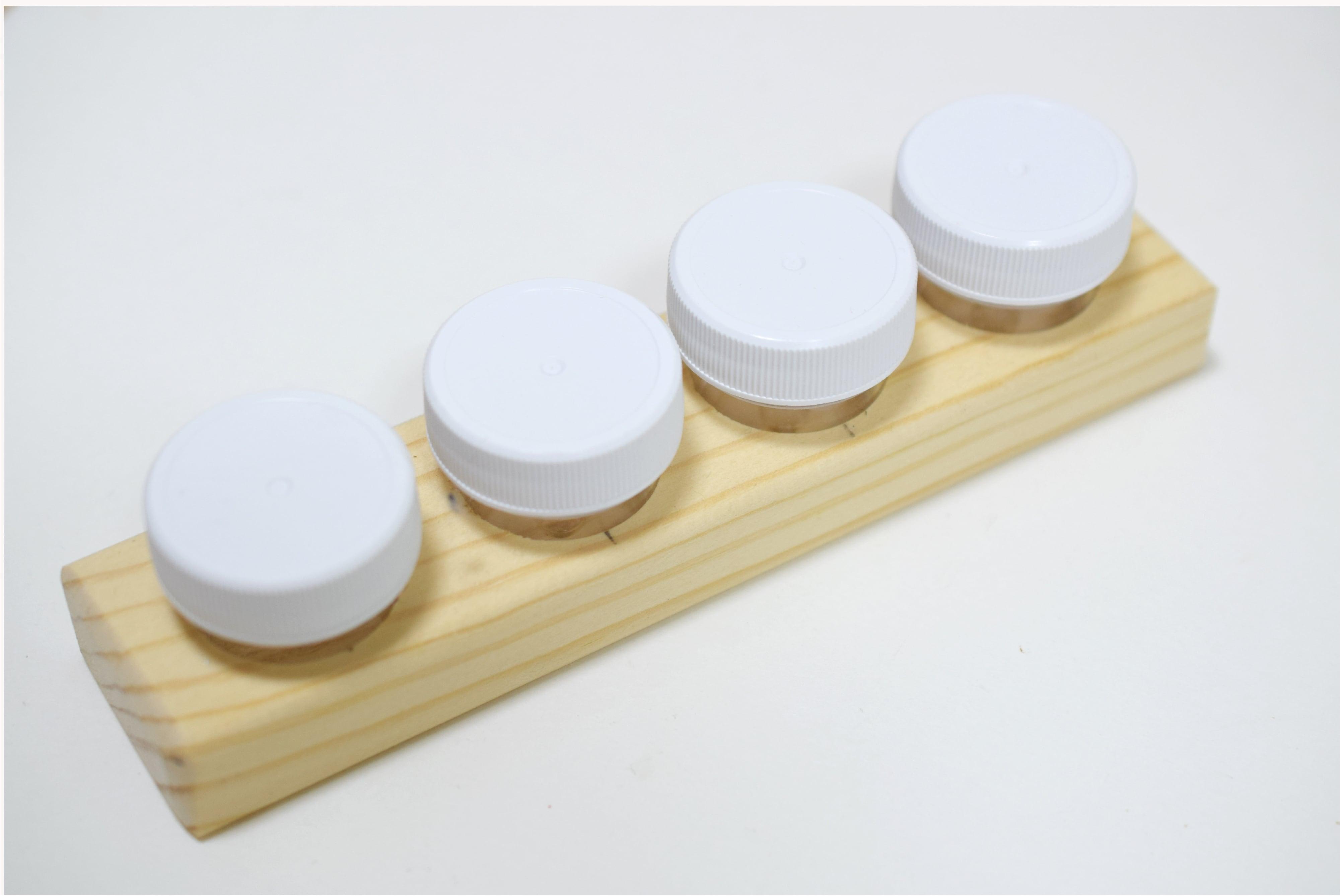 Jumbo Dinky Dip 4-Rectangle(4 jars)
