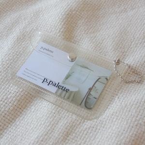 [p.palette] moimコラボ クリア カードポーチ