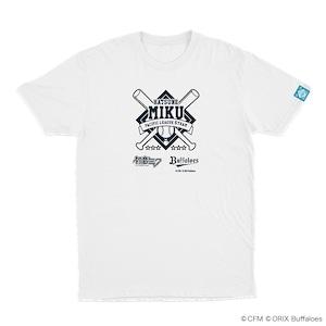 初音ミク×パ・リーグ Tシャツ バファローズ