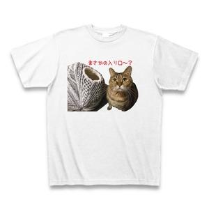うんちゃんねこハウスに入れないのTシャツ