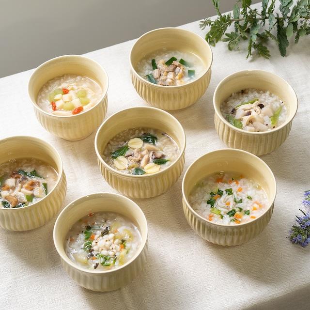漢方家と管理栄養士がつくったくすきの杜オリジナル養生粥 [7食セット+1食]