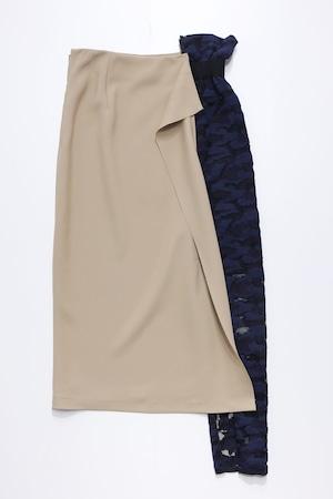21SS Lace Mix Skirt