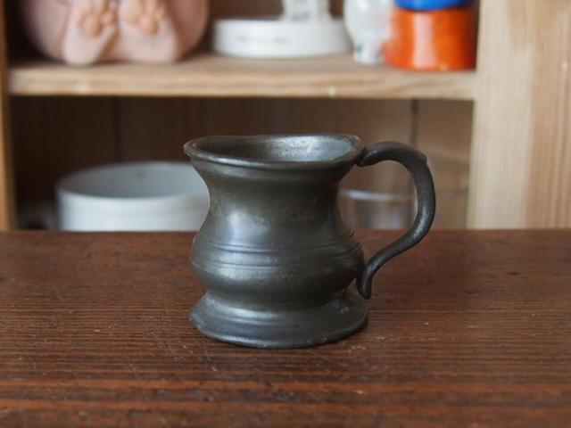 イギリスアンティーク ピューターカップ
