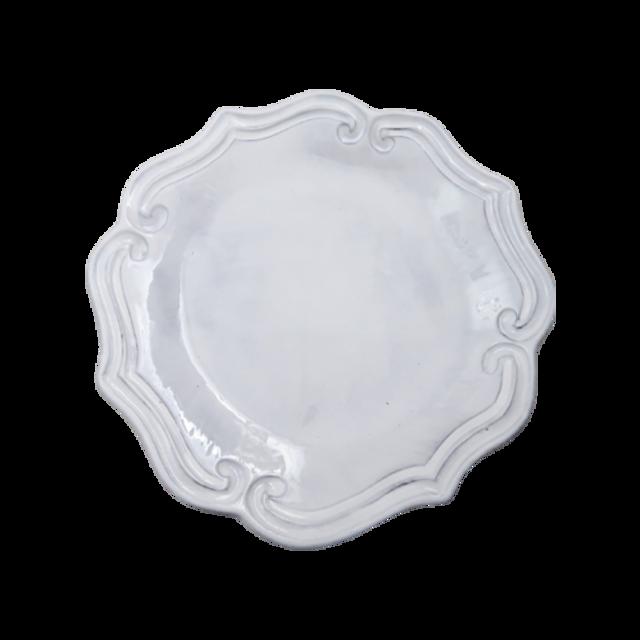 Wave design white plate /  ウェーブデザインホワイトプレート16cm