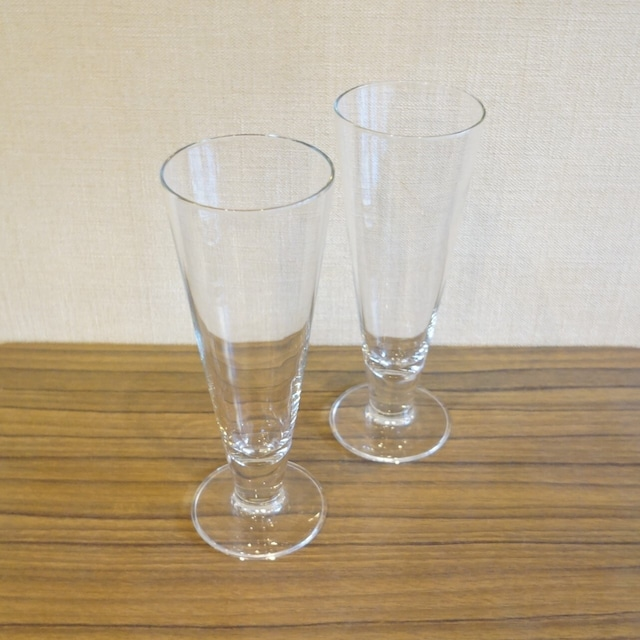背の高いグラス 2個セット