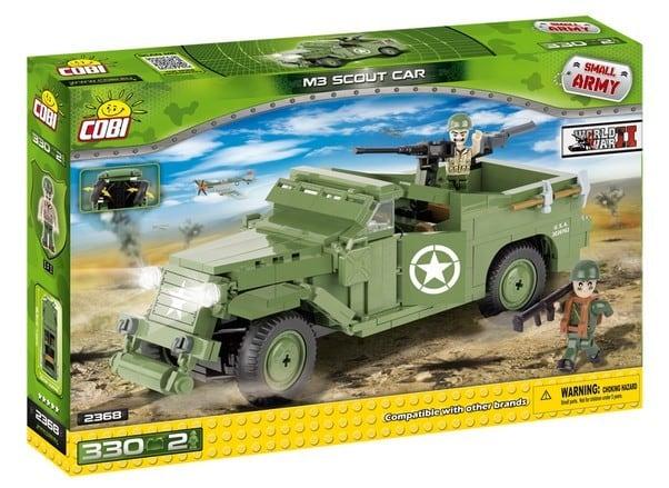 COBI #2368 M3スカウトカー (M3 Scout Car)