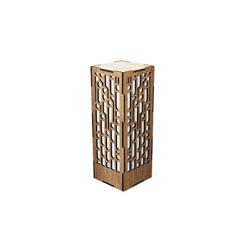 ミニ行灯 竹 - 置き型照明 Mサイズ プレーン