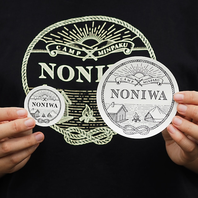 NONIWA ステッカー L