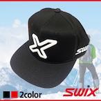Swix スウィックス PRキャップ ブラック レッド 帽子 ベースボールキャップ PR18