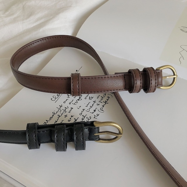 Simple belt(シンプルベルト)a-873