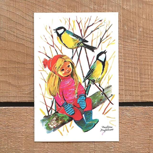 クリスマスカード「Kerstin Frykstrand(シェスティン・フリュークストランド)」《210208-06》