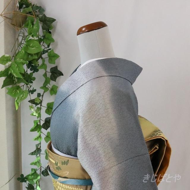正絹 黒橡のぼかしの袋帯