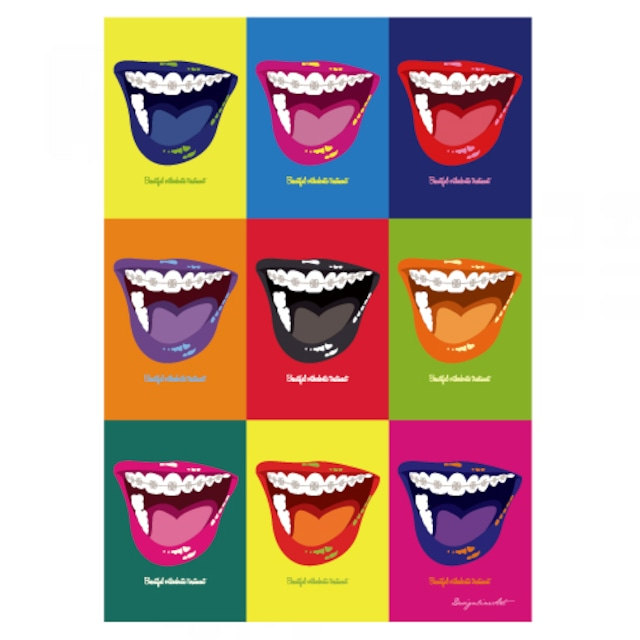 Orthodontic(Color)B2ポスター