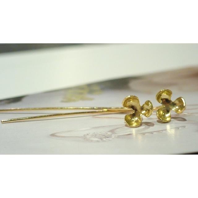 Pop K18YG Fook Earrings