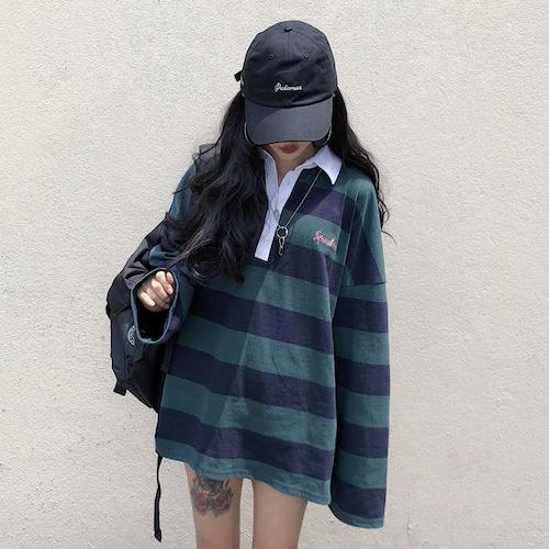 オーバーサイズラガーシャツ RD6514