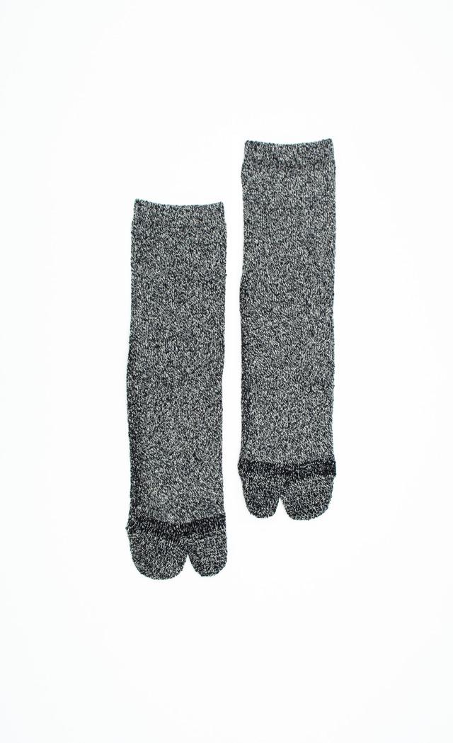 Cotton Silk Socks(Black)