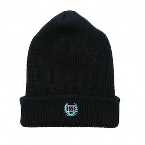 LAUREL WATCH CAP #BLACK