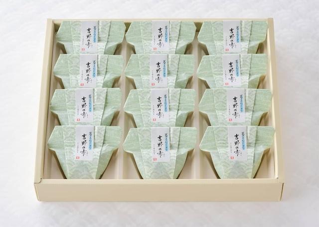 吉野の雫(しずく) 葛まんじゅう 12個入