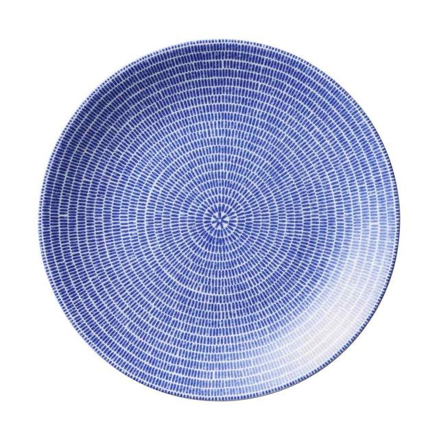 アラビア ARABIA 24h アベック プレート 皿 約20cm ブルー 1005545