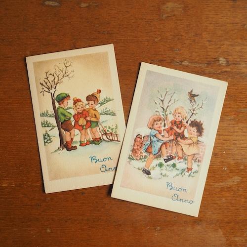 イタリアのクリスマスカード A