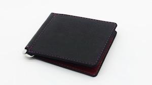 Yezo deer card case tanned black
