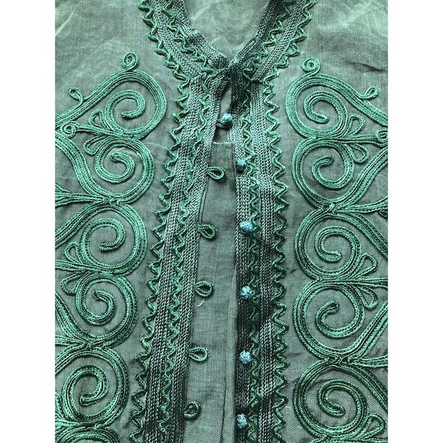 Embroidery 2way tunic