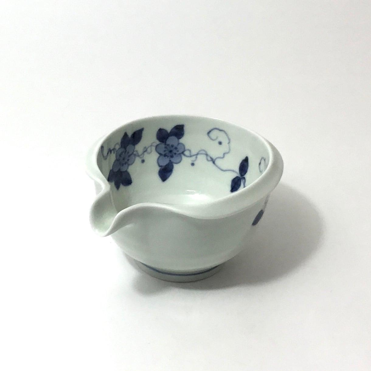 花模様片口小鉢