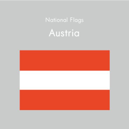 国旗ステッカー オーストリア