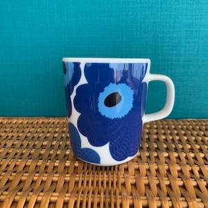 marimekko Unikko マグカップ WHITE/BLUE