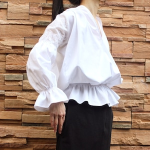 Roma needle work cotton shirts
