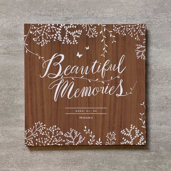 Tree's Board(Brown)-MATERNITY_250SQ_20ページ/30カット_アートアルバム
