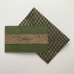 和紙のサンキューカード(Thankyou011)