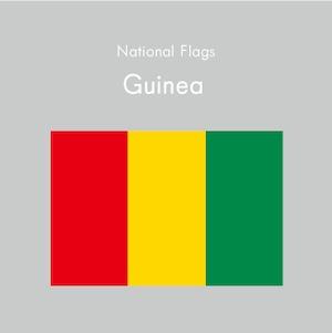 国旗ステッカー ギニア