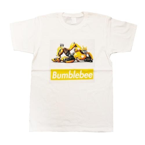 【トランスフォーマー】映画:バンブルビー ボックスロゴ Tシャツ