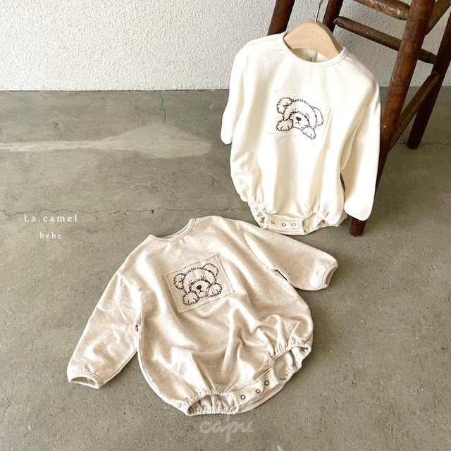 «sold out»«baby» La camel bear suit ベアロンパース
