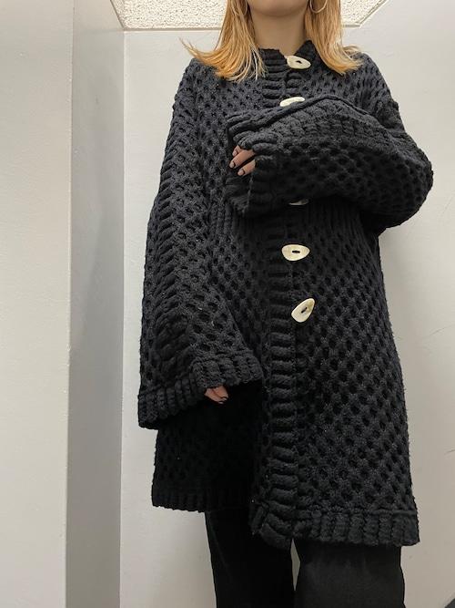 90's Roberta Frost ハンドニットカーディガン