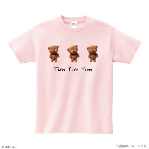 Tシャツ/ミニオン(Tim Tim Tim ピンク)【MINIONS POP UP STORE 限定】