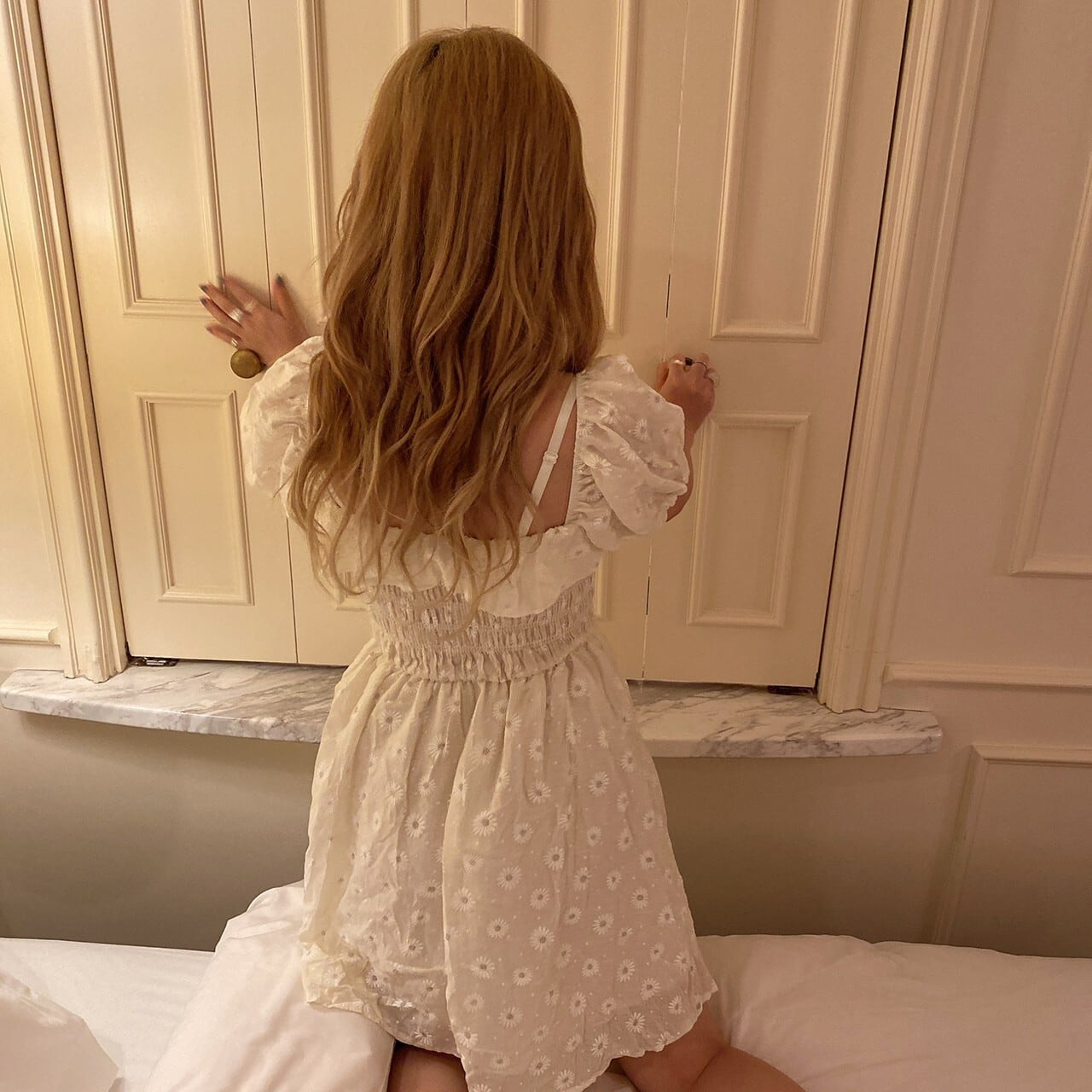flower lace onepiece