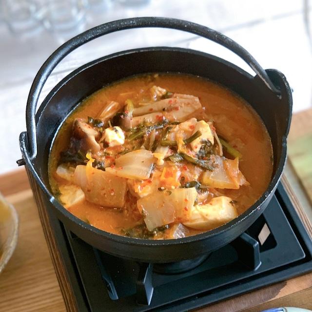 味噌キムチ鍋