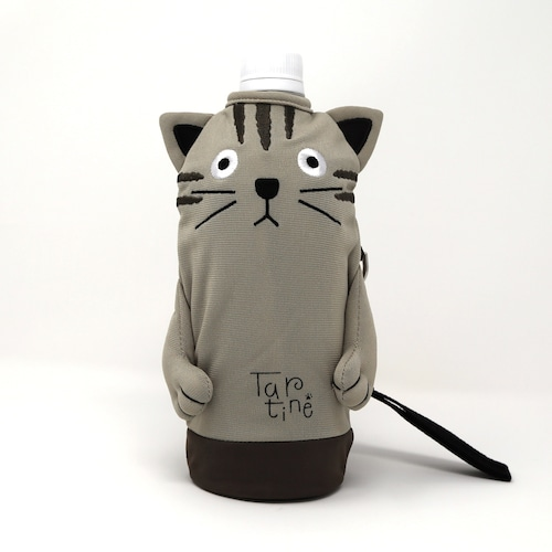 猫ペットボトルホルダー(シャロンタルティーヌ)キジトラ