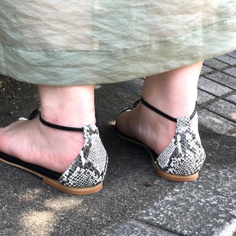 【 Regulierement 】- ST20M007 - Code sandal