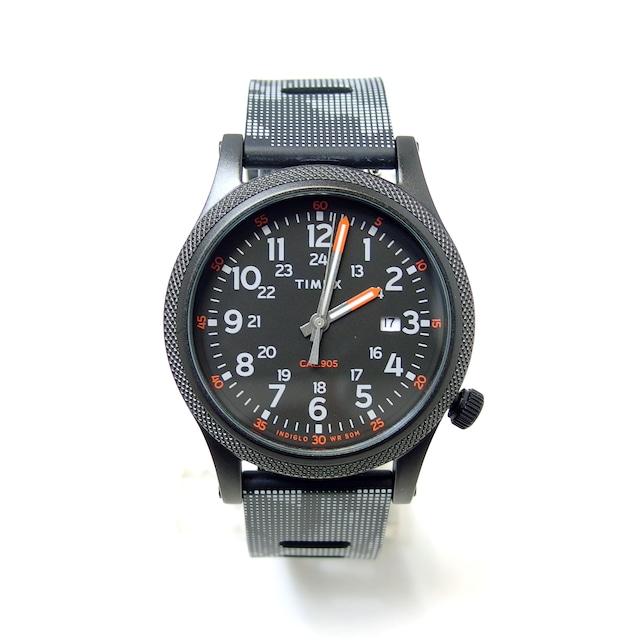 【TIMEX】NEW!アライド(ブラック×カモフラ)TW2T33600