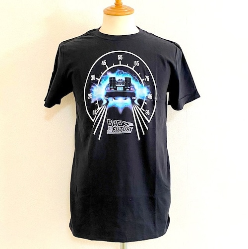 Back To The Future - SPEED METER - T-shirts Black