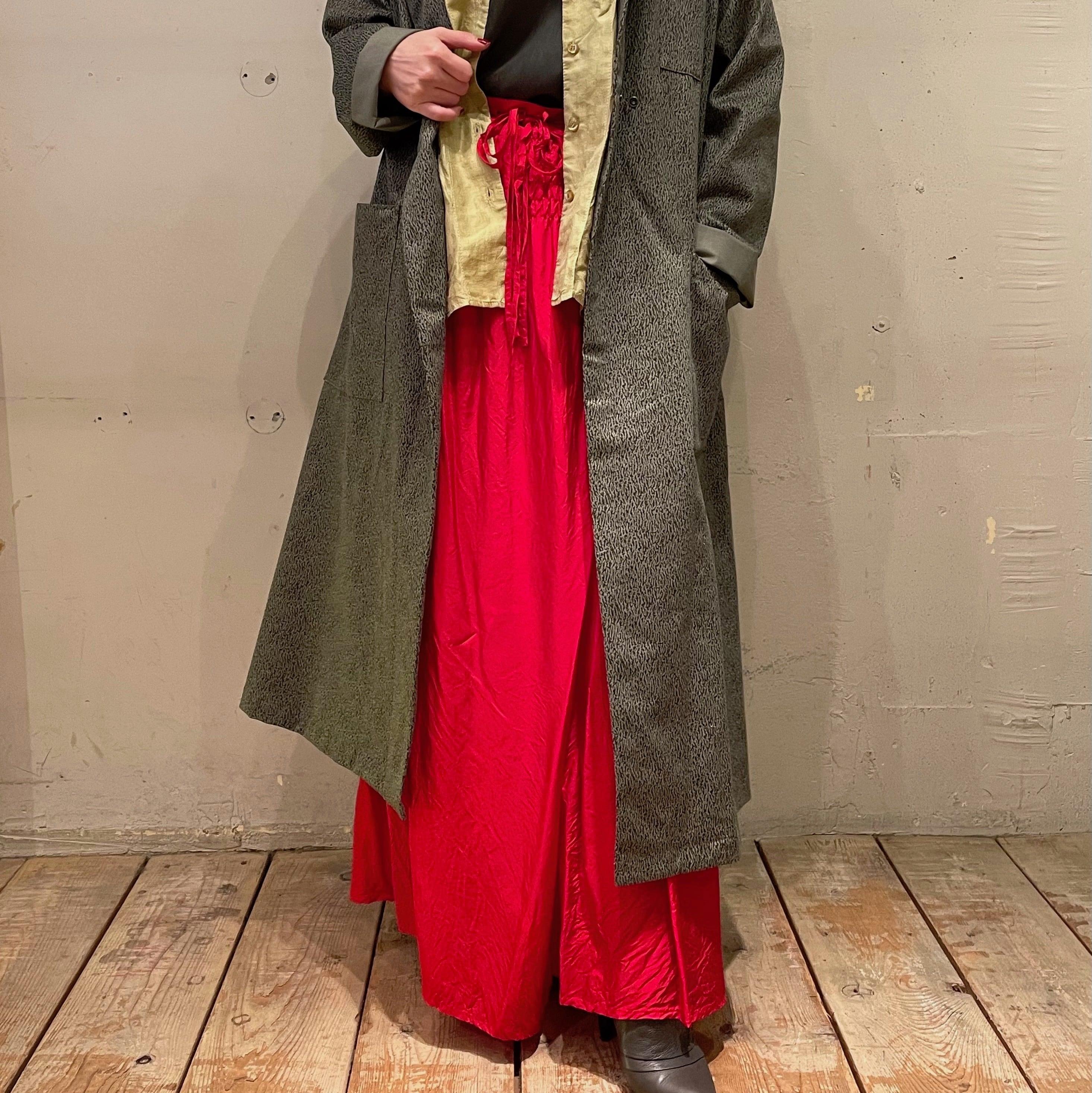 【hippiness × Sakurako.】cupro underpants(camellia)/ 【ヒッピネス × サクラコ.】キュプラ アンダーパンツ(椿 )