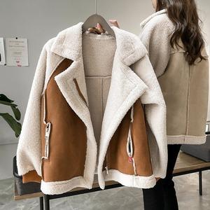 【アウター】韓国風ファッション 切り替え 配色 合わせやすい コート52899447
