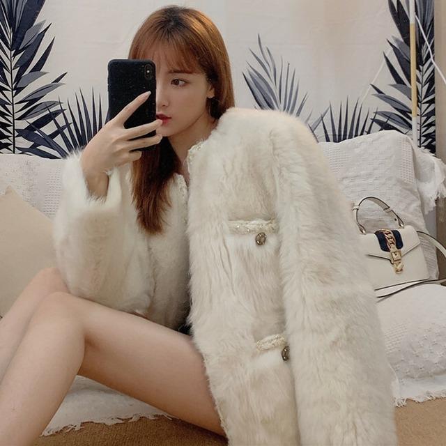 【アウター】韓国系ファッション無地長袖アウター24002219