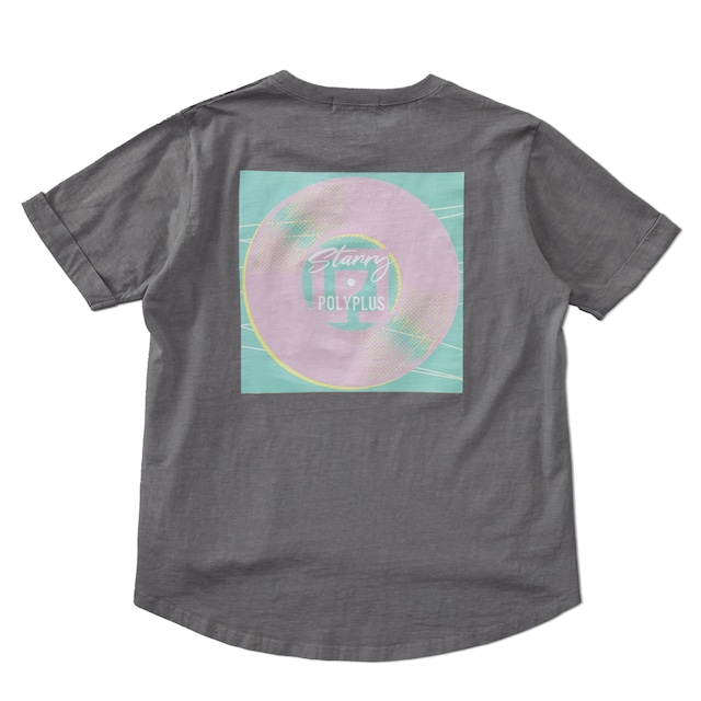 Starry Artwork T-shirt チャコール